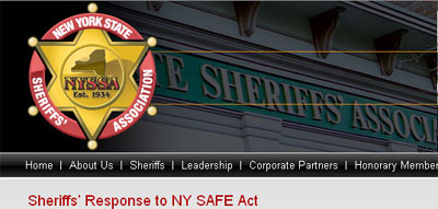 New York State Sheriff's Association's response the the SAFE Act:
